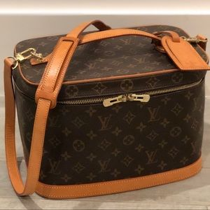 Louis Vuitton Monogram Nice Train Case